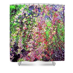 Weeping Cherry Shower Curtain by Holly Martinson