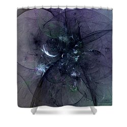 Weight Of The World Shower Curtain