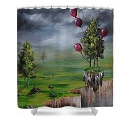 Weightless Shower Curtain
