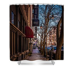 Weil Furs  Shower Curtain by Phillip Burrow