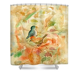 Welcome Autumn Shower Curtain