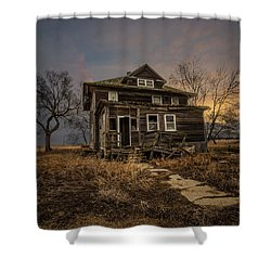 Shower Curtain featuring the photograph Welcome Home by Aaron J Groen