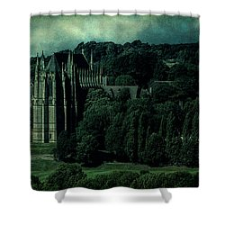 Shower Curtain featuring the photograph Welcome To Wizardry School by Chris Lord