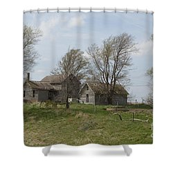 Welcome To The Farm Shower Curtain