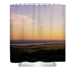 Welcome To The Valley Shower Curtain