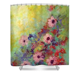 Welcoming Spring Shower Curtain