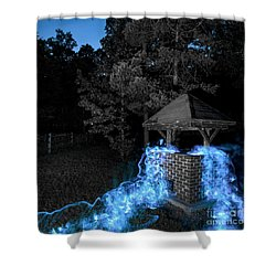 Well Bw Shower Curtain