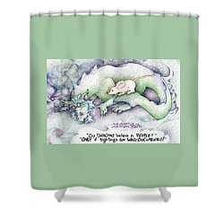 Well Documented Fpi Editorial Cartoon Shower Curtain
