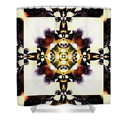 Well-framed Shower Curtain by Jim Pavelle