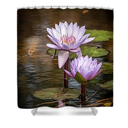 Shower Curtain featuring the photograph We'll Make It Last Forever by Wade Brooks