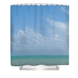 Shower Curtain featuring the photograph We'll Wait For Summer by Yvette Van Teeffelen
