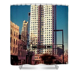 Wells Fargo Shower Curtain by Phillip Burrow