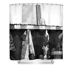 Wema Bank Hq And Stalls, Marina Shower Curtain
