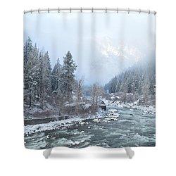 Wenatchee River Shower Curtain