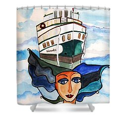 Wenonah 2  Shower Curtain