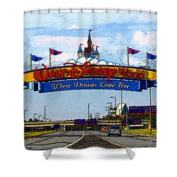 Were Dreams Come True Shower Curtain by David Lee Thompson