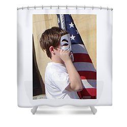 We're The Kids In America Shower Curtain