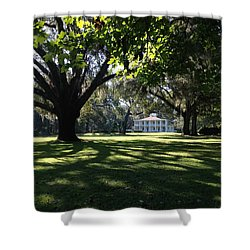 Wesley House Shower Curtain