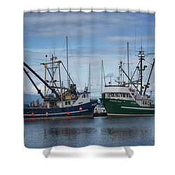Wespak And Pender Isle Shower Curtain by Randy Hall