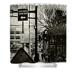 Shower Curtain featuring the photograph West 7th Street by Susan Stone