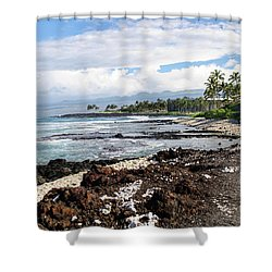 West Coast North Shower Curtain