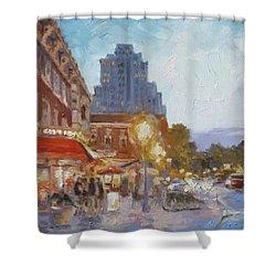 West End Evening - St.louis Shower Curtain