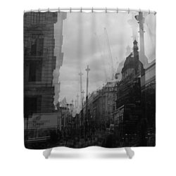 West End Tremors Shower Curtain