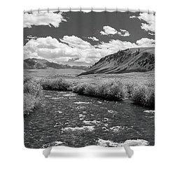 West Fork, Big Lost River Shower Curtain