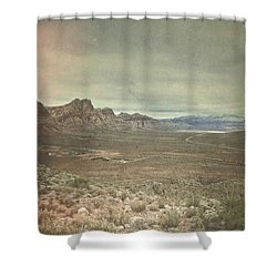 West Shower Curtain by Mark Ross