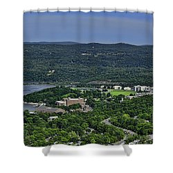 West Point From Storm King Overlook Shower Curtain