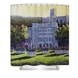 West Point Parade Shower Curtain