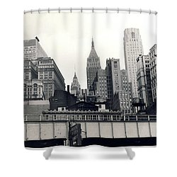 West Side Highway Shower Curtain