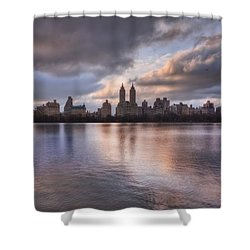 West Side Story Shower Curtain by Evelina Kremsdorf