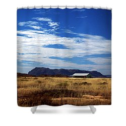 West Texas #1 Shower Curtain