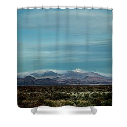 West Texas Skyline #1 Shower Curtain