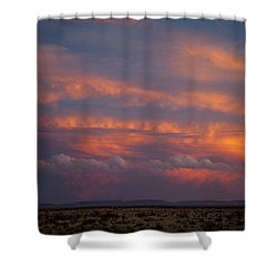 West Texas Sunset #1 Shower Curtain