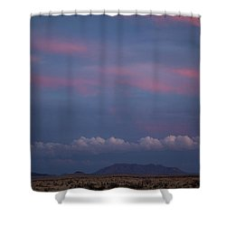 West Texas Sunset #2 Shower Curtain