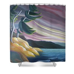 West Wind Shower Curtain