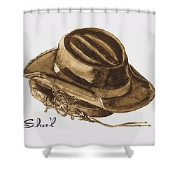 Western Apparel Shower Curtain