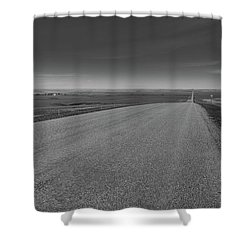 Western Sunrise Shower Curtain