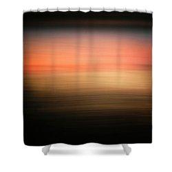 Shower Curtain featuring the photograph Western Sun by Marilyn Hunt