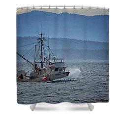 Shower Curtain featuring the photograph Western Sunrise by Randy Hall