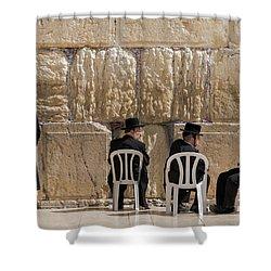 Western Wall Shower Curtain