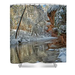 Westfork's Beauty Shower Curtain