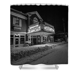 Westhampton Winter Night Shower Curtain