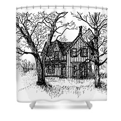Westhill House 1 Shower Curtain