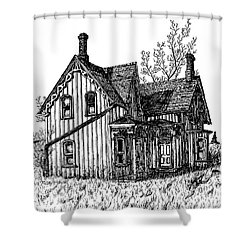 Westhill House 2 Shower Curtain