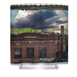 Westinghouse In A Storm Shower Curtain
