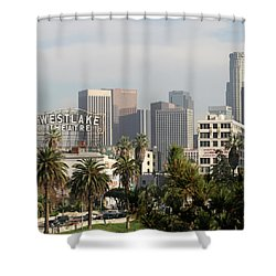 Westlake, Los Angeles Shower Curtain