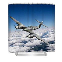 Westland Whirlwind Portrait Shower Curtain